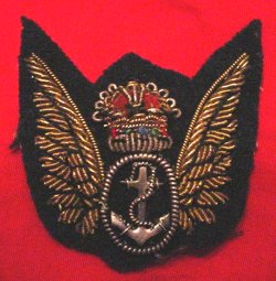 British Fleet Air Arm - Warrant Officer/Air Gunner