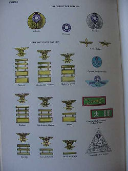 Chinese Air Force - Insignia