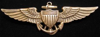 * US NAVY K-2 BLIMP HAT PIN USS PILOT CREW NAS NAF DIRIGIBLE WING HANGER GIFT NR