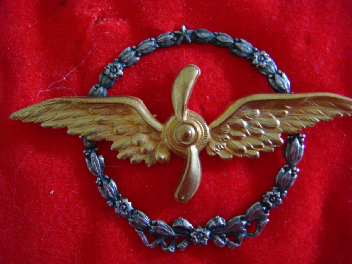US NAVAL AVIATION W// AVIATOR WINGS BADGE PATCH PILOT NAVIGATOR VETERAN USMC